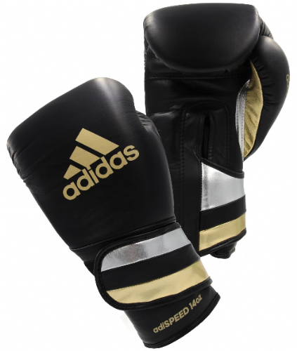 Adidas Adispeed Boxing Gloves - Black/Gold